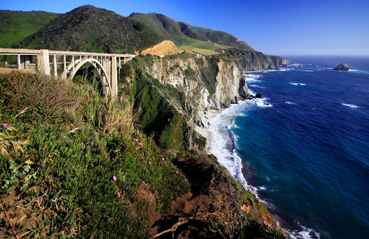 The stunning arch bridge featured in the show's opening credits is actually located in Big Sur, 18 miles south of Monterey. <em>Big Little Lies'</em> location Manager Gregory Alpert suggests pulling off the highway just north of the bridge for the best photo op.