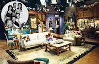 """<p>The apartment Monica inherited from her grandmother was <a href=""""http://www.bustle.com/articles/60983-how-much-would-the-friends-apartments-cost-in-real-life-lets-just-say-theyve-always-been"""" rel=""""nofollow noopener"""" target=""""_blank"""" data-ylk=""""slk:ridiculously huge"""" class=""""link rapid-noclick-resp"""">ridiculously huge</a>, open and oddly angled for a unit inside a classic Greenwich Village walk-up, a real-life example of which served as the exterior shot. The decor was a very '90s mix of eclectic, post-collegiate shabby chic and Pottery Barn staples. </p><p><b>Goodman:</b> """"They're young and they're out in the city but they've still got the dorm mentality, so they're bringing coziness and mismatched patchworks. Very catch-as-catch-can. There's no way that big window would exist in a walk-up.""""</p><p><b>Meyer:</b> """"That apartment used to freak me out. How did they afford it? If it were for rent today, it'd be $9,000 a month. They've got a great wall of windows, a terrace and a huge-ass kitchen. But the design is an absolutely nondescript hodgepodge. No way they'd have that much decent furniture right out of college. They have a very nineties 'feature wall' that you'd paint a certain color. That always drove me crazy. The floors do, too. The sad thing is that this probably influenced a million real-life apartments. If I redid, I'd keep the window and otherwise do a gut job."""" <i>Photo: Getty Images</i></p>"""
