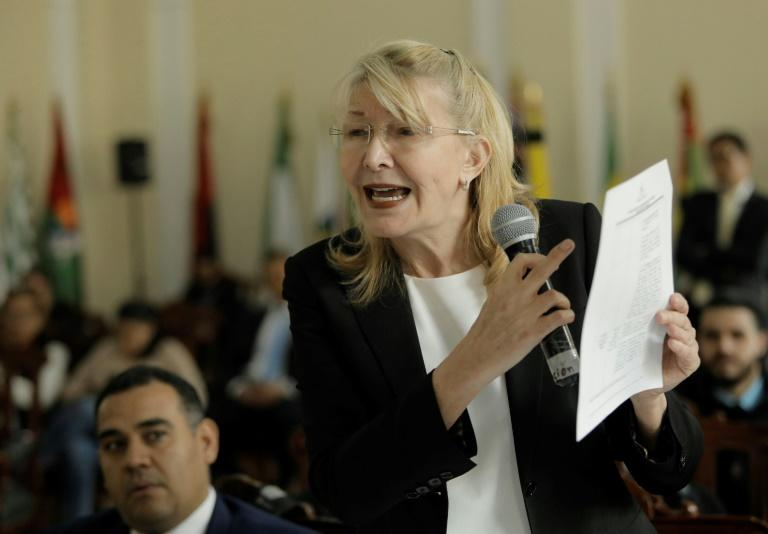 The case against the Venezuelan President Nicolas Maduro was brought by former Venezuela public prosecutor Luisa Ortega, who fled to Colombia last year after she was sacked by Maduro's loyalist Constituent Assembly
