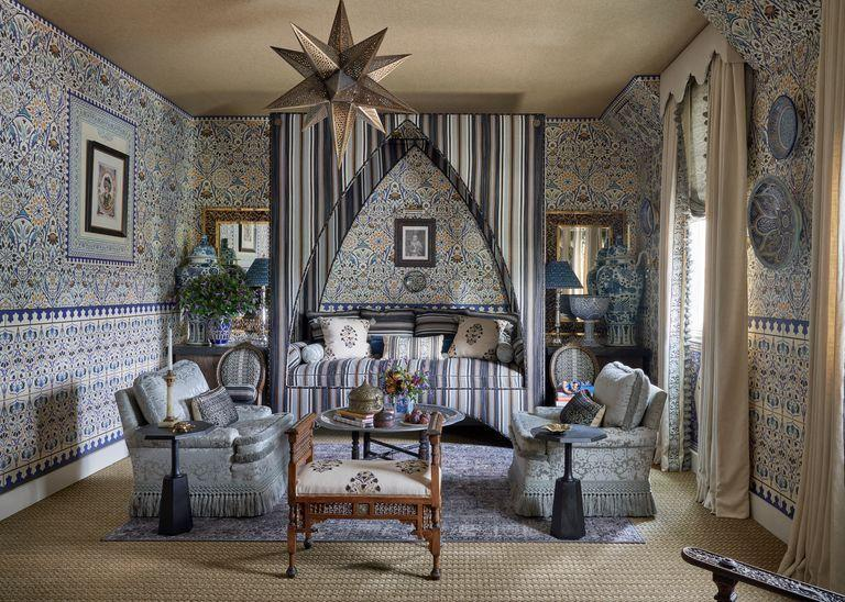 """<p>The Dallas satellite of the <a href=""""https://www.kipsbaydecoratorshowhouse.org/kbdallasplanyourvisit"""" rel=""""nofollow noopener"""" target=""""_blank"""" data-ylk=""""slk:Kips Bay Decorator Show House"""" class=""""link rapid-noclick-resp"""">Kips Bay Decorator Show House</a> opens on September 24 in a Georgian-style house in Old Preston Hollow. Twenty-five designers, including stars Ken Fulk, Robin Henry, and Martyn Lawrence Bullard, will create spaces of pure fantasy and whimsy. </p>"""