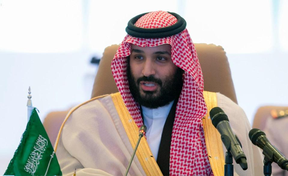 "<em>Saudi Crown Prince Mohammed bin Salman vowed that extremists will no longer ""tarnish our beautiful religion"" (AP)</em>"
