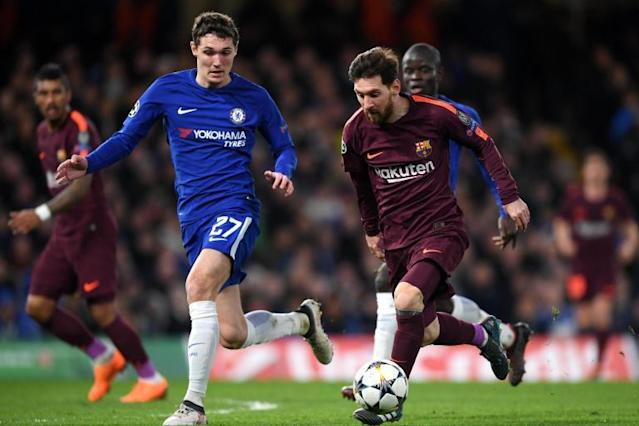 Willian says Chelsea's win in Madrid proves they can knockout Barcelona in Champions League second leg