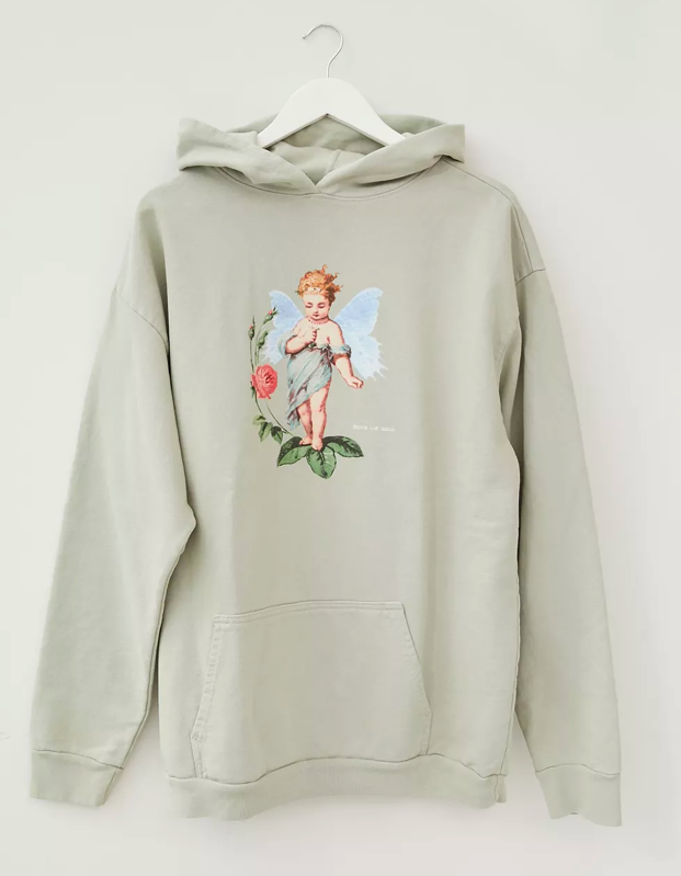 "This isn't a jacket, but your fall fashion lineup is incomplete without a cozy oversize hoodie to do absolutely nothing in. $144, Urban Outfitters. <a href=""https://www.urbanoutfitters.com/shop/boys-lie-i-choose-me-hoodie-sweatshirt"" rel=""nofollow noopener"" target=""_blank"" data-ylk=""slk:Get it now!"" class=""link rapid-noclick-resp"">Get it now!</a>"