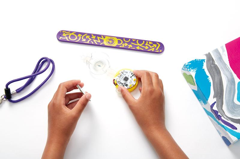 Kids will get to learn new skills with this toy that can be coded in infinite ways to create different light patterns. <br />Price: &pound;54.99
