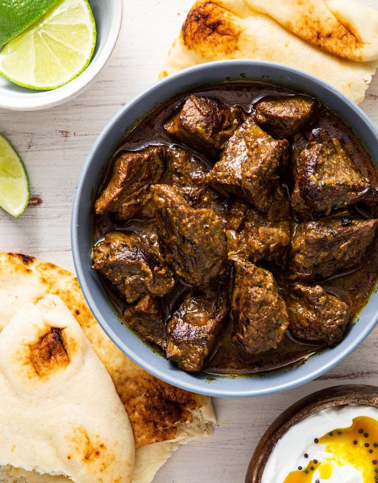 """<p>This curry is about to blow your mind.</p><p>Get the recipe from <a href=""""https://www.delish.com/cooking/recipe-ideas/a30781449/beef-curry-recipe/"""" target=""""_blank"""">Delish</a>.</p>"""