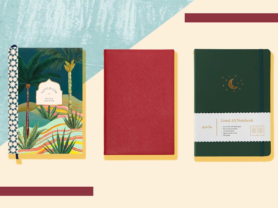 A new notebook is a symbol of potential, of beginnings, or promises and pledges (iStock/The Independent)
