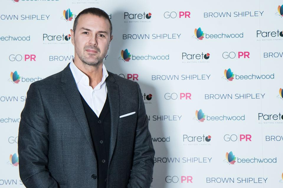 Paddy McGuinness attends charity fundraiser for Beechwood cancer care at PRINCIPAL on November 23, 2018 in Manchester, England. (Photo by Carla Speight/Getty Images)