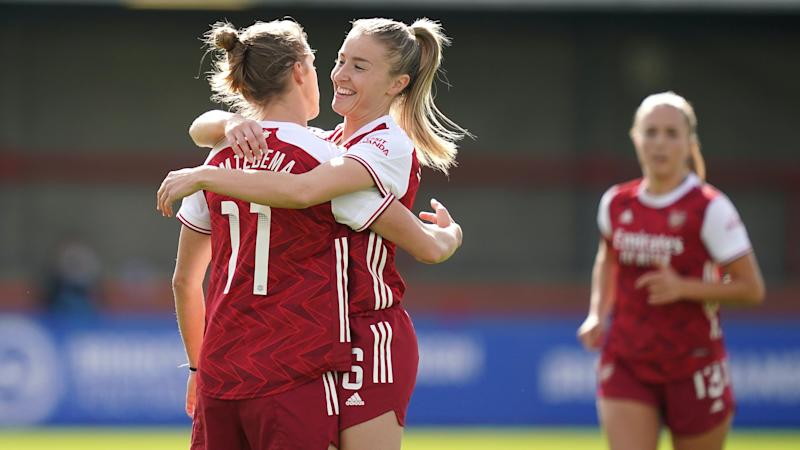 Arsenal and Everton remain perfect in Women's Super League