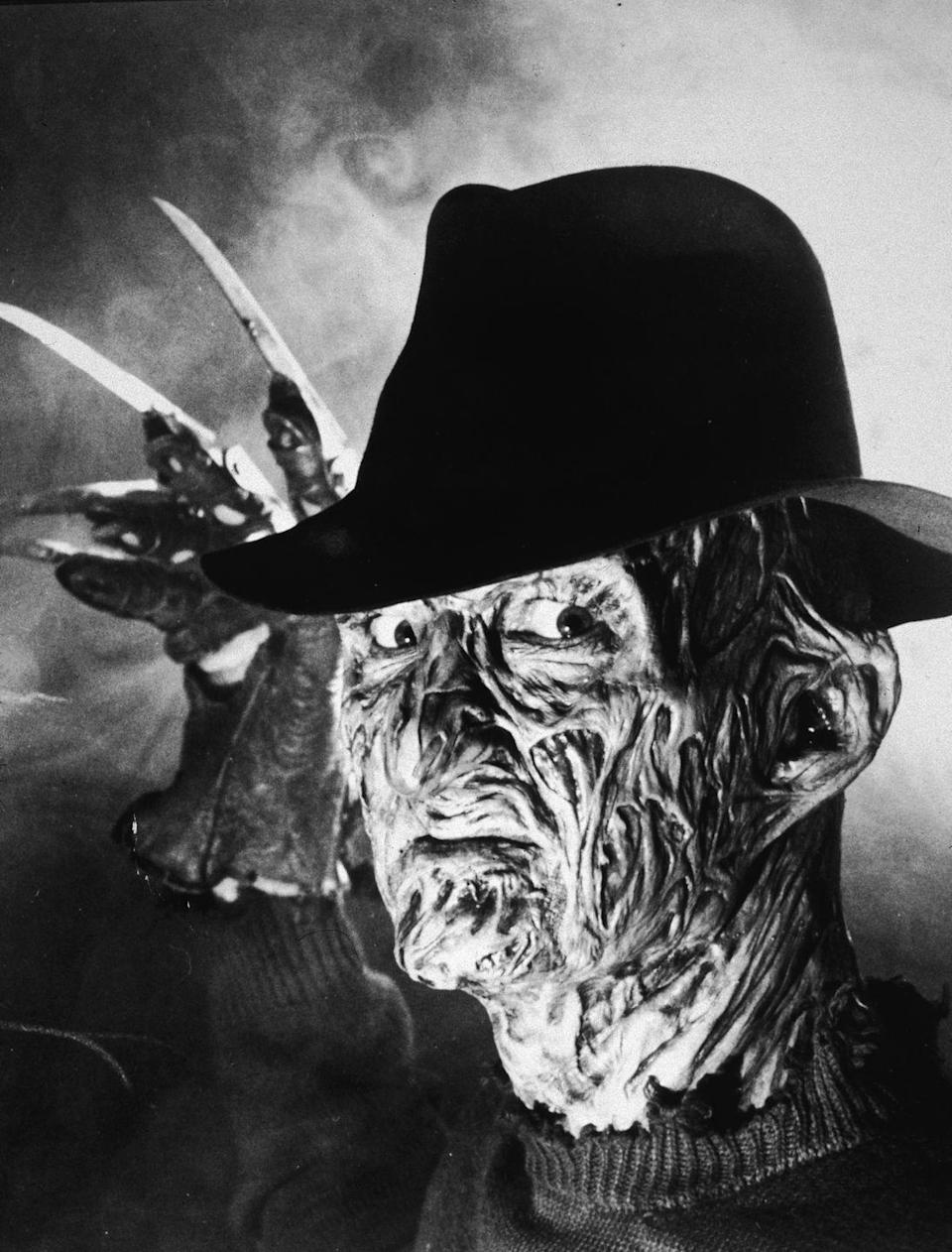 """<p>Wes Craven's <em>The Nightmare on Elm Street </em>was released on November 9, 1984. The horror film introduced the masses to one of Halloween's most popular villains, Freddie Krueger<span class=""""redactor-invisible-space"""">. </span></p>"""