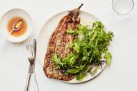 """For this Filipino classic, eggplants are heavily charred before being battered with egg and pan-fried, making them smoky, creamy, crispy, and totally satisfying. <a href=""""https://www.epicurious.com/recipes/food/views/eggplant-omelet-tortang-talong?mbid=synd_yahoo_rss"""" rel=""""nofollow noopener"""" target=""""_blank"""" data-ylk=""""slk:See recipe."""" class=""""link rapid-noclick-resp"""">See recipe.</a>"""