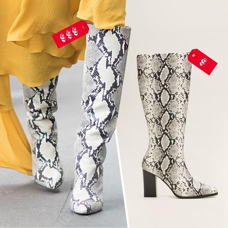 shop best sellers online shop best value The Best Snakeskin Boots Are $1,575—So I Found 16 Under $250 Instead