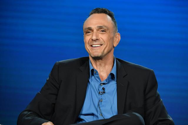 """Hank Azaria of """"Brockmire"""" speaks during the IFC segment of the 2020 Winter TCA Press Tour at The Langham Huntington, Pasadena on January 16, 2020 in Pasadena, California. (Photo by Amy Sussman/Getty Images)"""