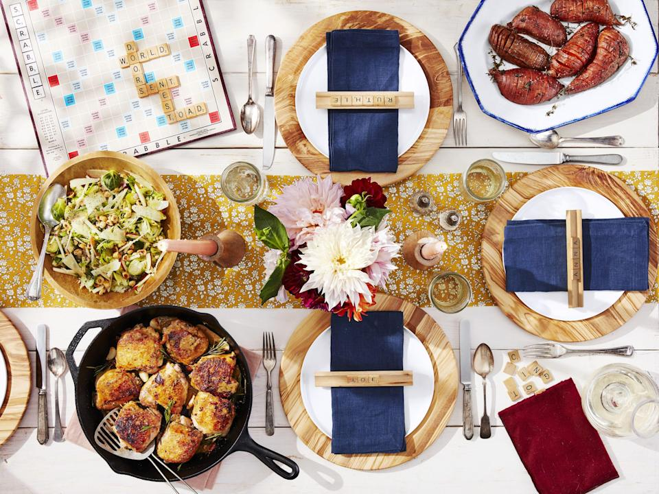 """<p>Hosting a dinner party this fall? We're here to squash (!) your anxiety with a ton of <a href=""""https://www.countryliving.com/food-drinks/g1921/easy-fall-recipes/"""" rel=""""nofollow noopener"""" target=""""_blank"""" data-ylk=""""slk:fall recipes"""" class=""""link rapid-noclick-resp"""">fall recipes</a>, <a href=""""https://www.countryliving.com/home-design/decorating-ideas/advice/g1536/fall-decorating-ideas/"""" rel=""""nofollow noopener"""" target=""""_blank"""" data-ylk=""""slk:fall decorating ideas"""" class=""""link rapid-noclick-resp"""">fall decorating ideas</a>, and delicious, <a href=""""https://www.countryliving.com/food-drinks/g454/autumn-treats-1007/"""" rel=""""nofollow noopener"""" target=""""_blank"""" data-ylk=""""slk:autumn treats"""" class=""""link rapid-noclick-resp"""">autumn treats</a> that your guests will be talking about for weeks. Whether you want an upgraded meat and potatoes (how does a strip steak with lemon mashed potatoes sound?) or something a little more interesting (a from-scratch pasta that'll impress all your friends), there's likely something for you on our list. </p>"""