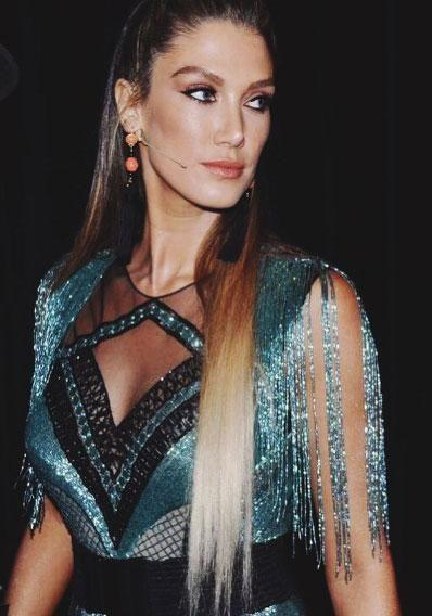 The 32-year-old Australian singer has shared some glam snaps of herself from the set of the Channel Nine show, letting her sultry look from the second live show speak for itself. Source: Instagram