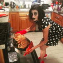 """<p>The Desperate Housewives alum is a <em>Coraline</em> fan. """"You can stay forever if you want to,"""" she captioned this shot, borrowing a line from the movie. """"Happy Halloween."""" (Photo: <a rel=""""nofollow noopener"""" href=""""https://www.instagram.com/p/Ba7zGY2FhYI/?hl=en&taken-by=officialterihatcher"""" target=""""_blank"""" data-ylk=""""slk:Teri Hatcher via Instagram"""" class=""""link rapid-noclick-resp"""">Teri Hatcher via Instagram</a>) </p>"""