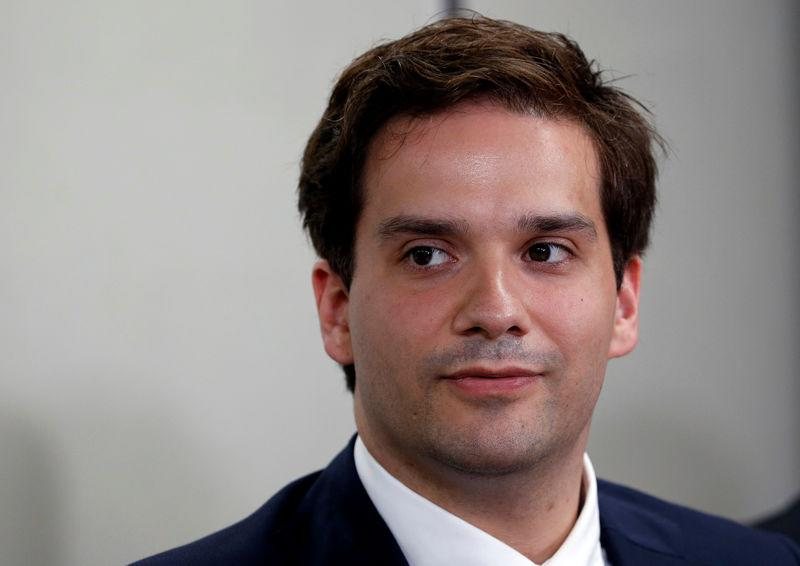 Karpeles, CEO of defunct bitcoin exchange Mt Gox, attends news conference in Tokyo