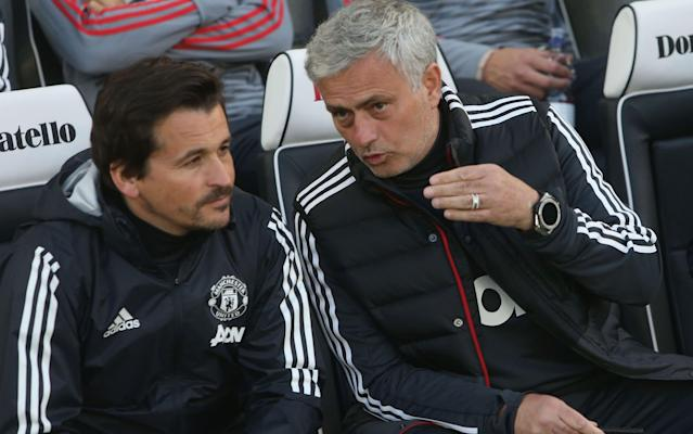 "Rui Faria, Jose Mourinho's long standing assistant, has decided to leave Manchester United at the end of the season. Faria will end his 17-year association with Mourinho next month in order to spend more time with his family. The Portuguese has been omnipresent alongside Mourinho throughout his successes as a coach and his departure represents a blow for the United manager. The demands on Faria's time have persuaded the 42-year-old - who was loosely linked with the vacant Arsenal manager's job - that it is the right moment to take a break. It remains to be seen if Mourinho opts to bring in a new coach to replace Faria. Michael Carrick, the United midfielder, is due to join Mourinho's coaching staff when he retires after tomorrow's final league game at home to Watford. Mourinho believes Faria will go on to become a successful manager Credit: Getty Images Mourinho first encountered Faria at Barcelona and then took him to Uniao Leiria as his fitness coach in 2001. Faria followed Mourinho to Porto, where they won the Uefa Cup and Champions League as well as back to back league titles. He was Mourinho's trusted assistant for two spells at Chelsea as well as at Inter Milan, Real Madrid and now United and has been a key lieutenant and sounding board for his compatriot. ""After a lot of consideration, and with a very heavy heart, I have decided the time is right for me to move on,"" Faria said. ""I have had 17 years of incredible and unforgettable experiences. However, I have felt for some time that I would like to spend much more quality time with my family before pursuing any new challenge in my professional life. ""My heartfelt thanks go to the manager, Jose Mourinho, for the belief he had in me, all those years ago, when it all was just a student dream. I would like to thank him for the opportunity and confidence, for the knowledge and experience, but most importantly for his friendship. Best Man Utd XI of all time ""I would also like to thank Manchester United and all the clubs where I have had the privilege of working during this period. I would like to say a big 'thank you' to all the staff and players who, in different ways, have made an important contribution to my growth as a person and as a professional. ""I wish you all the best for the future, knowing that you will always be my close friends."" Mourinho - who has issued numerous glowing appraisals of Faria down the years - paid tribute to his assistant's commitment and dedication. He said: ""Seventeen years… in Leiria, Porto, London, Milan, Madrid, London again and Manchester. Training, playing, travelling, studying, laughing and also a few tears of happiness. ""Seventeen years and the kid is now a man. The intelligent student is now a football expert, ready for a successful career as a manager. ""I will miss my friend and that is the hardest thing for me, but his happiness is more important and, of course, I respect his decision, especially because I know that we will always be together. Be happy, brother!"""