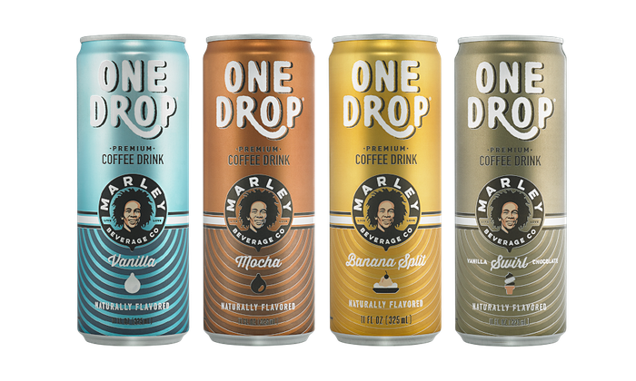 New Age Beverages canned drinks.