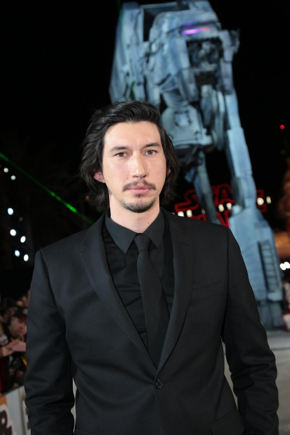 Adam Driver likes to channel the dark side. (Photo: Alex J. Berliner/ABImages )