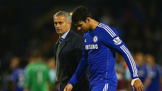 The pair delivered a Premier League crown to Stamford Bridge in Costa's first Premier League season, and remain on good terms
