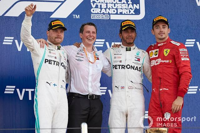"Tercero en el GP de Rusia <span class=""copyright"">Steve Etherington / Motorsport Images</span>"