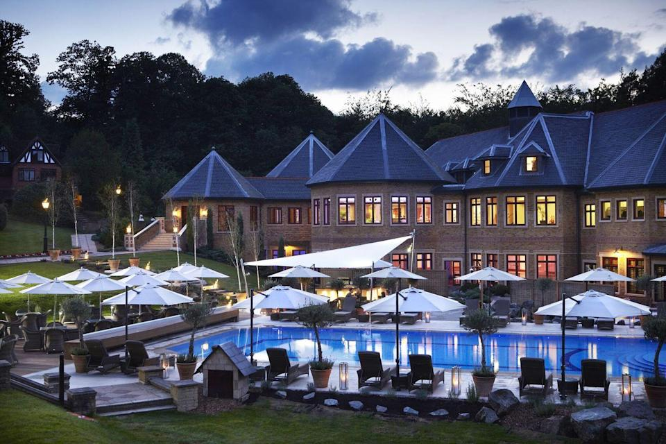 """<p>A luxury hotel and spa in the middle of 123 acres of Surrey countryside, Pennyhill Park is the kind of hotel you want to visit when you need to escape the hustle and bustle of daily life. With pools, Jacuzzis, two award-winning restaurants, a screening room and terrace where you can enjoy afternoon tea for two, we think this is a must-visit this summer.</p><p><a class=""""link rapid-noclick-resp"""" href=""""https://www.exclusive.co.uk/pennyhill-park"""" rel=""""nofollow noopener"""" target=""""_blank"""" data-ylk=""""slk:BOOK HERE"""">BOOK HERE</a></p>"""