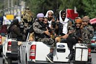 The Taliban appears determined to defeat the resistance before announcing its government (AFP/Aamir QURESHI)
