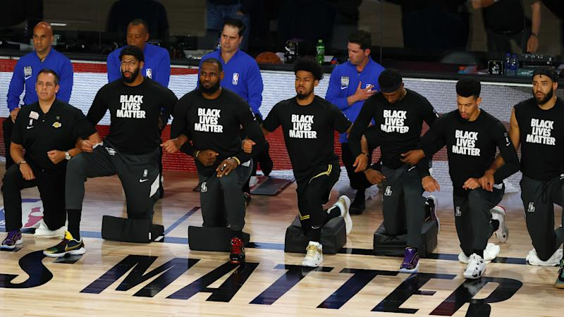 Lakers president stands behind players after playoff boycott amid protests against racial injustice