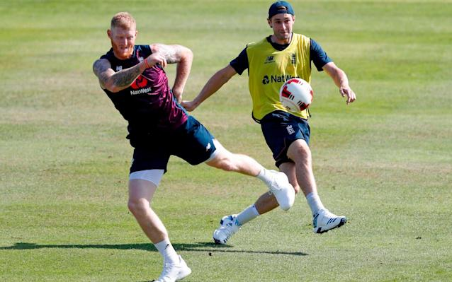 England prepare for the second Test against Australia - AFP