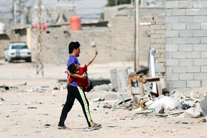 Nearly 10 percent of Iraqis live in informal settlements, one fifth of them in Basra, according to the ministry of planning (AFP Photo/HAIDAR MOHAMMED ALI)