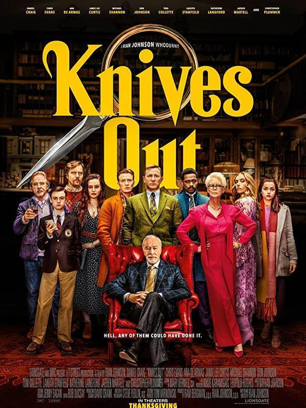 Poster Knives Out. (Foto: IMDb/ Lionsgate)