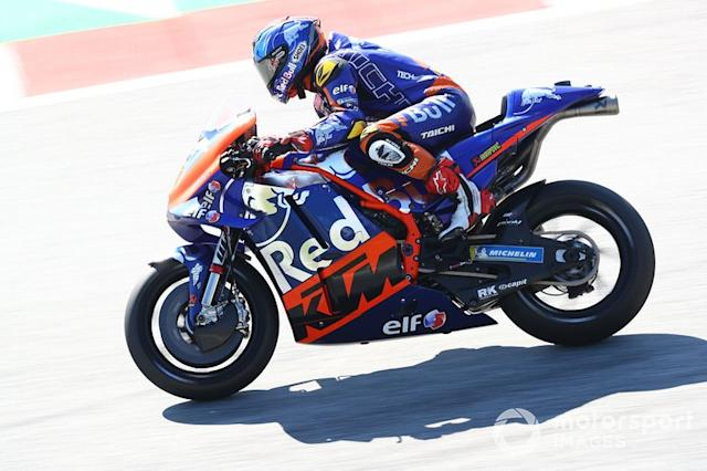 "Hafizh Syahrin, Red Bull KTM Tech 3 <span class=""copyright"">Gold and Goose / LAT Images</span>"