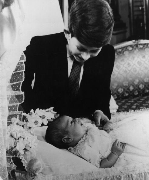 <p>Prince Andrew (seen here with Prince Charles) is born on February 19th. This year, Princess Margaret marries Tony Armstrong-Jones.</p>