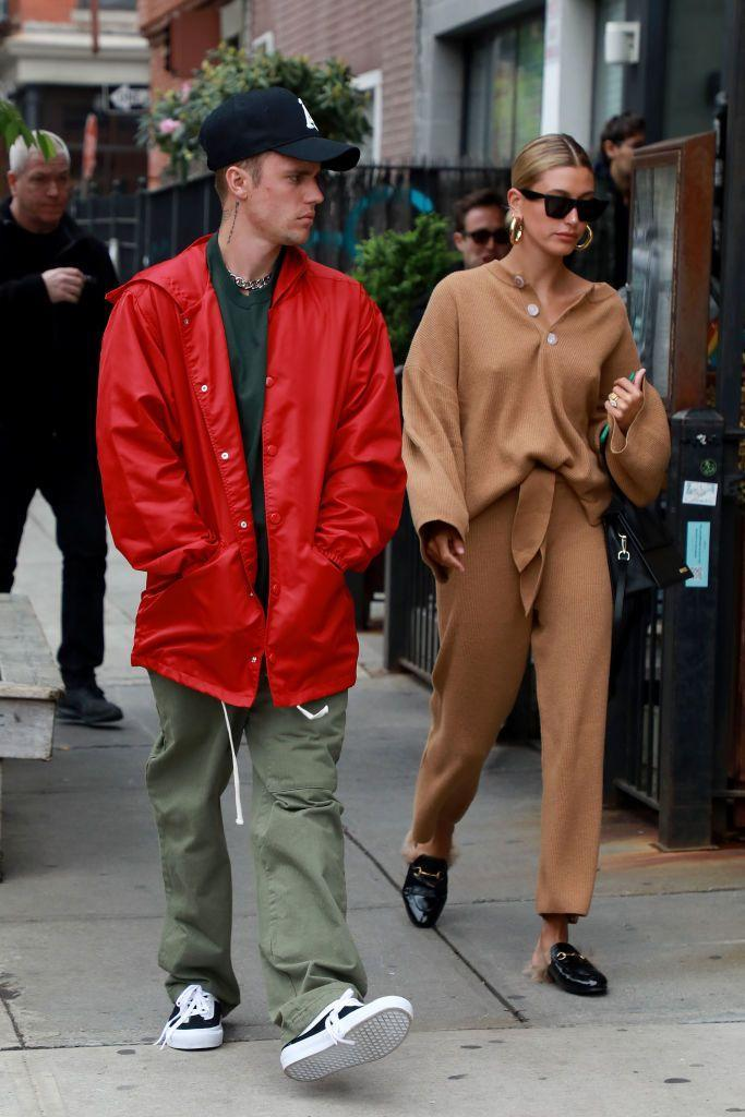 <p>The couple take a stroll in Brooklyn, New York.</p>