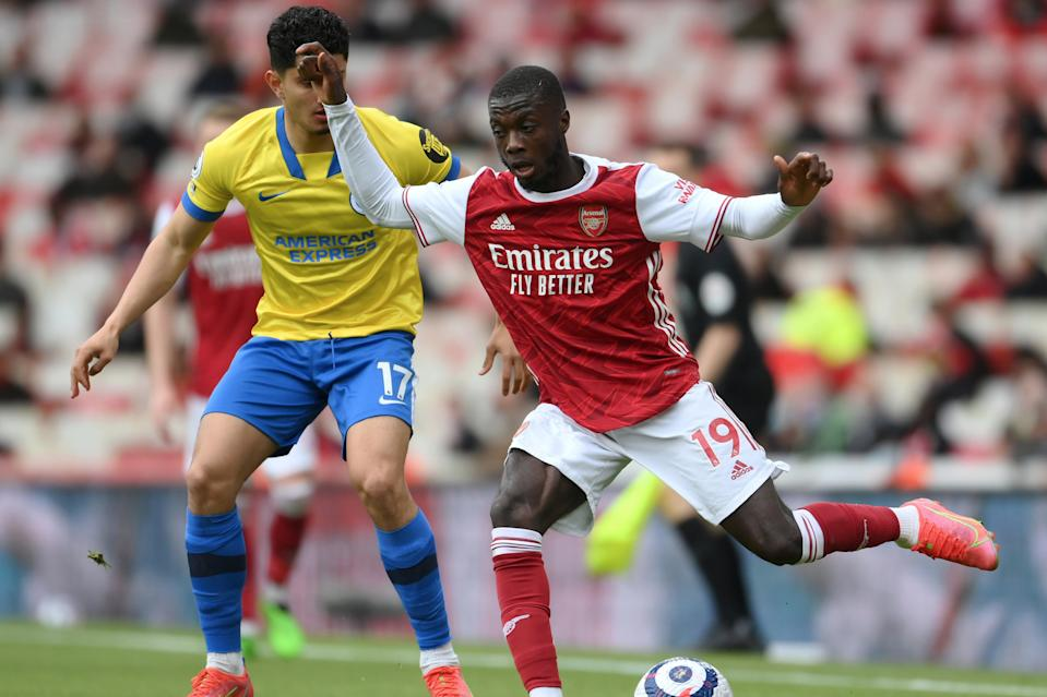 <p>Arsenal's record signing Nicolas Pepe ended the season in fine form</p> (Getty Images)