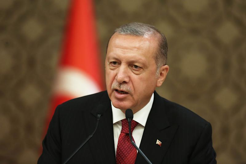 Erdogan says Turkey keeping 'low-level' contact with Syria