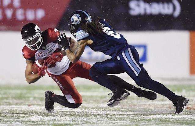 """Marcus Ball isn't stressing about his first foray into CFL free agency.The veteran linebacker still remains unsigned nearly two months after hitting the free-agent market. But the 31-year-old isn't losing sleep over it.""""I think it's understanding the business side of the game and the CBA aspect of it,"""" Ball said in a telephone interview. """"As far as being on the sidelines and on a team right now, hey, that's the way the ball rolls sometimes.""""I know and believe there are coaches and players out there who know I can still make these plays and make it happen out there. It's just a matter of opportunity and the right situation.""""The CFL and its players continue to hammer out a new collective-bargaining agreement with the current deal slated to expire next month. Among the details to be negotiated is the league's salary cap, which stood at $5.2 million last season.Ball, a six-foot-one, 209-pound linebacker, was hopeful his football future would be determined shortly after the start of free agency Feb. 12. But experience has taught Ball that finding the right situation is more important than signing a deal early.He has been a productive CFL player with 238 tackles, seven sacks and two interceptions over four seasons (56 starts) with the Toronto Argonauts. Ball has also started for two Grey Cup-winning Argos teams (2012, '17).The married father of two young children — six-year-old daughter, Marley, and two-year-old son, Blaise — had 44 tackles and an interception in 10 games last season. Ball finished the campaign on the injured list with hamstring ailment that he says is ancient history now.""""I'm so far removed from that hamstring,"""" he said. """"I feel great, I've been great, I've been feeling great, I've been told I look great and that I move great.""""To be honest with you, I was able to come back and play last year but the decision Marc (former Argos head coach Marc Trestman), Jim (GM Jim Popp) and I reached was with the down season we were having, we kind of put it on the shel"""