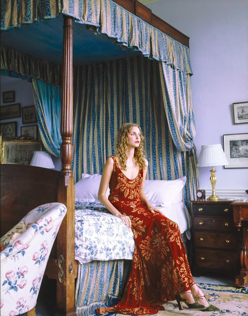 """Those textiles that season were all specially made for me by different mills based on my obsession with Renaissance textiles (it was a sort of homage to Mariano Fortuny also)."""