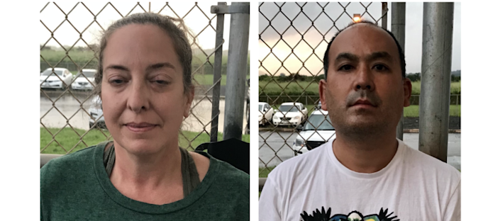 Courtney Peterson, 46, and Wesley Moribe, 42, of Wailua, Hawaii were arrested after boarding a flight home knowing they had tested positive for COVID-19.