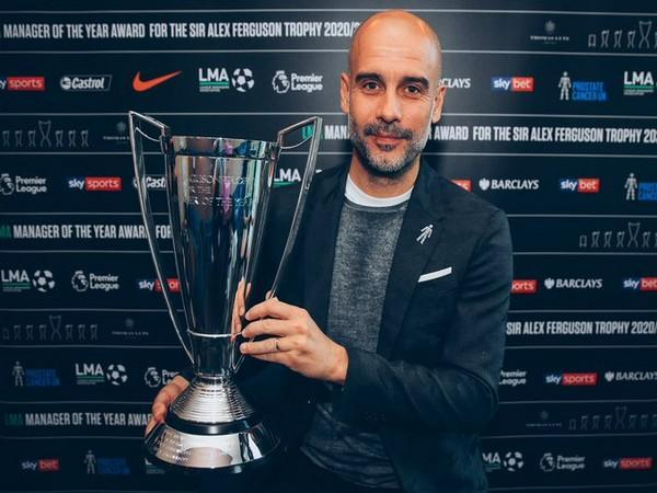 Manchester City manager Pep Guardiola (Photo/ Manchester City Twitter)