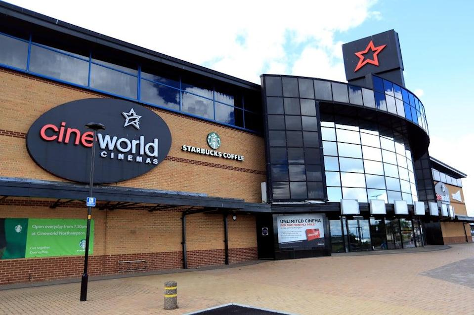 Cineworld has agreed to pay out to disgruntled former Regal shareholders (Mike Egerton/PA) (PA Wire)