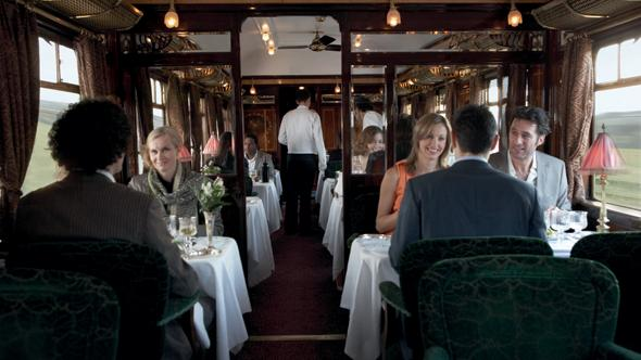 Dining on the Orient Express