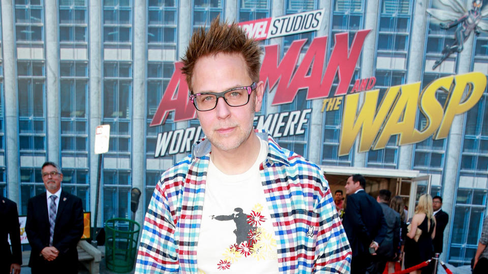 James Gunn attends the premiere of Disney And Marvel's 'Ant-Man And The Wasp' on June 25, 2018. (Photo by Rich Fury/Getty Images)