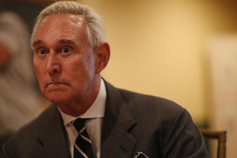 Roger Stone, longtime advisor to US President Donald Trump, said he thinks he is the next one to be indicted by special prosecutor Robert Mueller in the FBI's Russia investigation: Joe Raedle/Getty Images