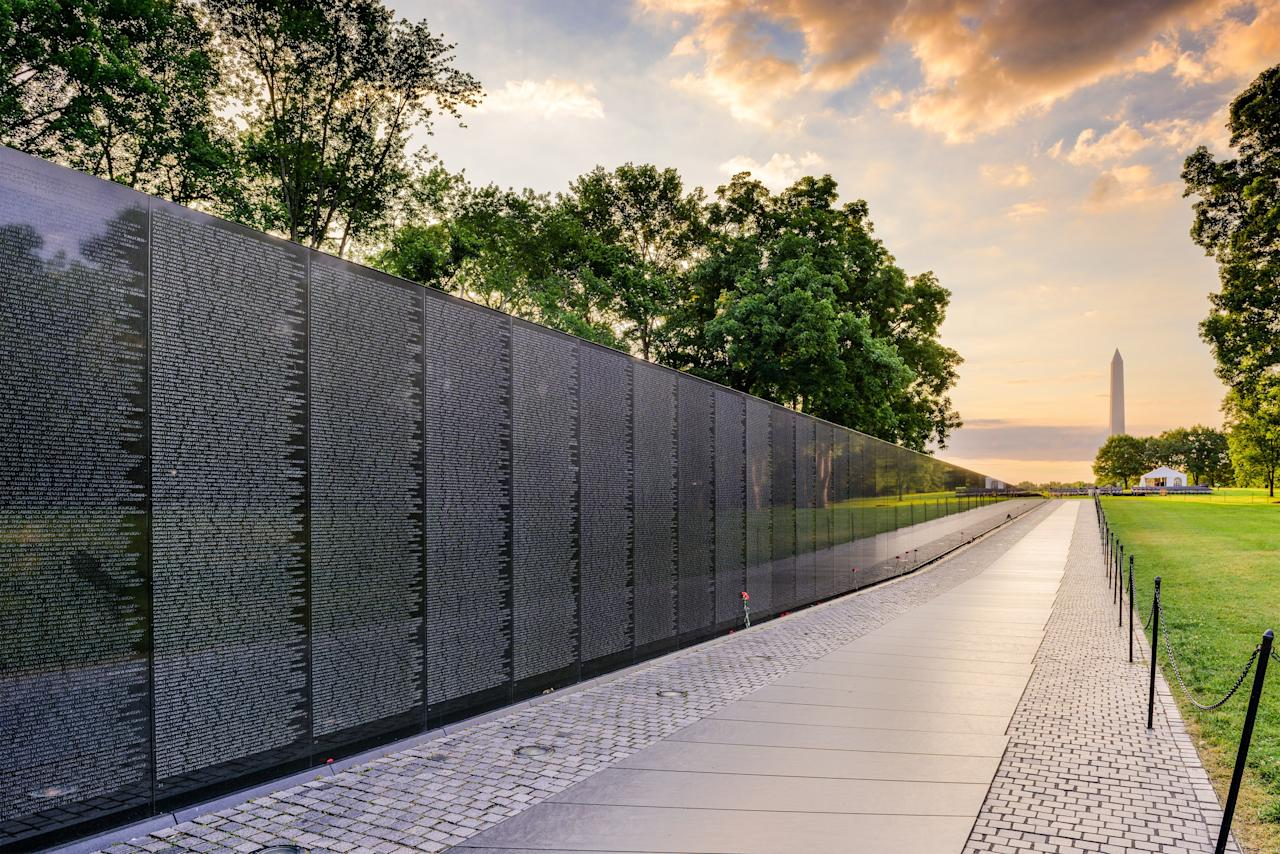 The American-born Maya Lin was awarded the 2016 Presidential Medal of Freedom by then president Barack Obama. The self-described designer has produced works of muted beauty, such as the Riggio-Lynch Chapel in Tennessee, as well as the Vietnam Veterans Memorial in Washington, D.C. (pictured).