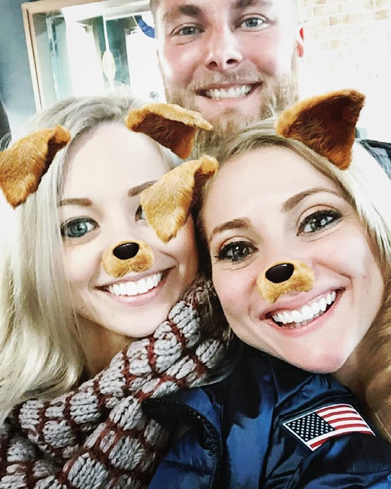 <p>alexa_knierim: Squad is here! #family #siblings (Photo via Instagram/alexa_knierim) </p>