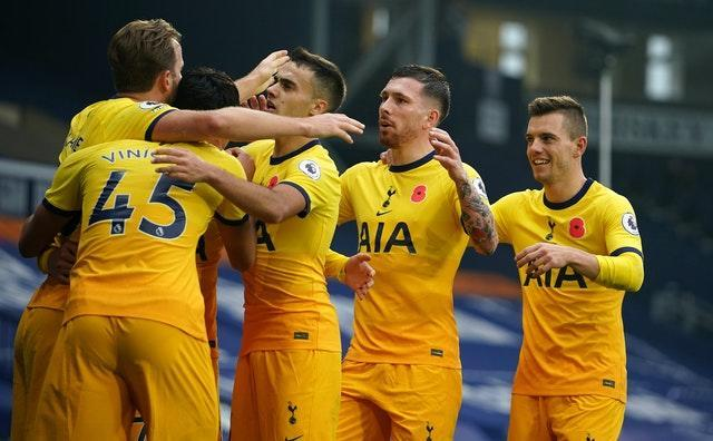 Tottenham reached the summit with victory