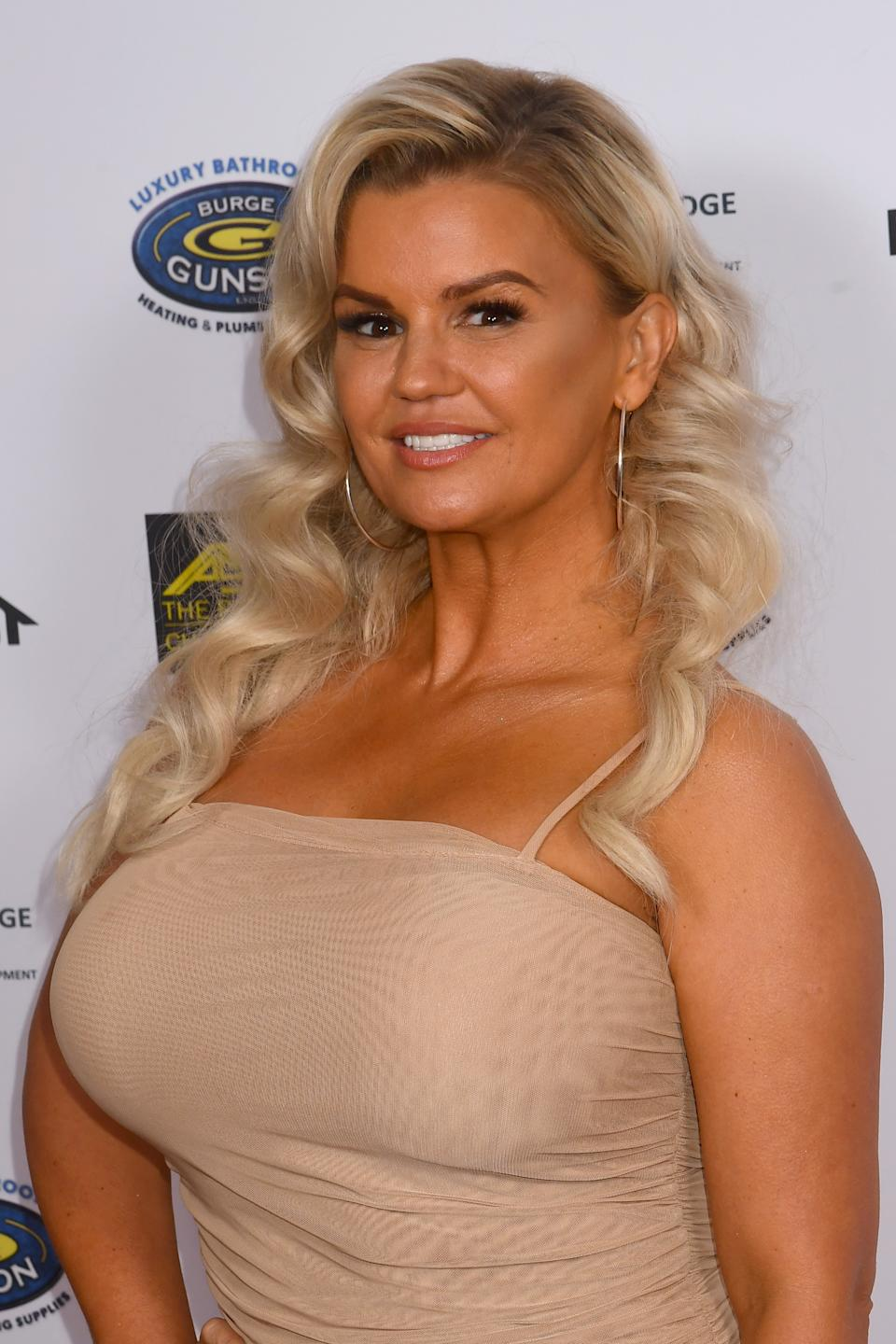 Kerry Katona has recently moved home with her family. (Photo by Dave J Hogan/Getty Images)