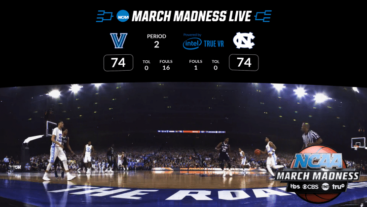 Six March Madness Games Can Be Watched in Virtual Reality