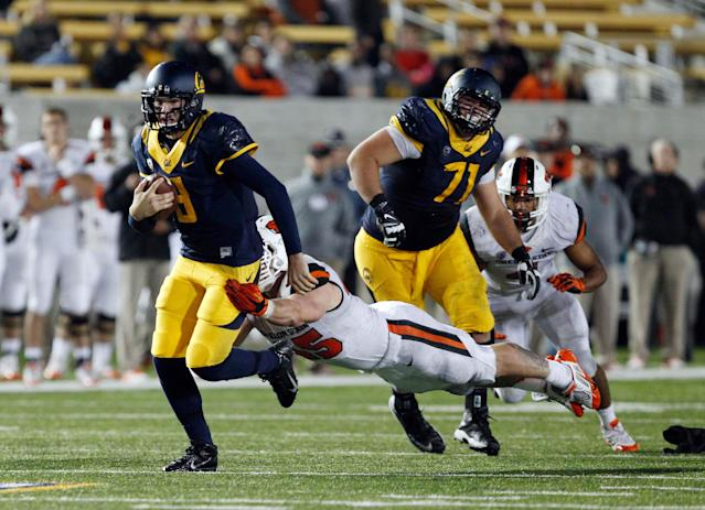 Former Cal QB Zach Kline transferring to Butte College rather than Oregon State